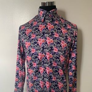 camouflage floral shirt
